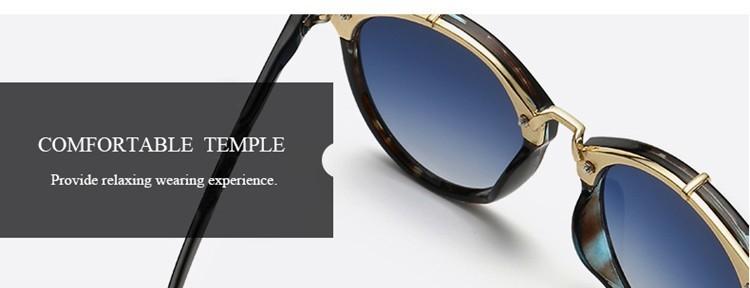 2016 Classic Brand Designer Sunglasses Women Men Retro Round Sun Glasses Woman shades Mirror Eyewear Lady Male Female Sunglass (4)
