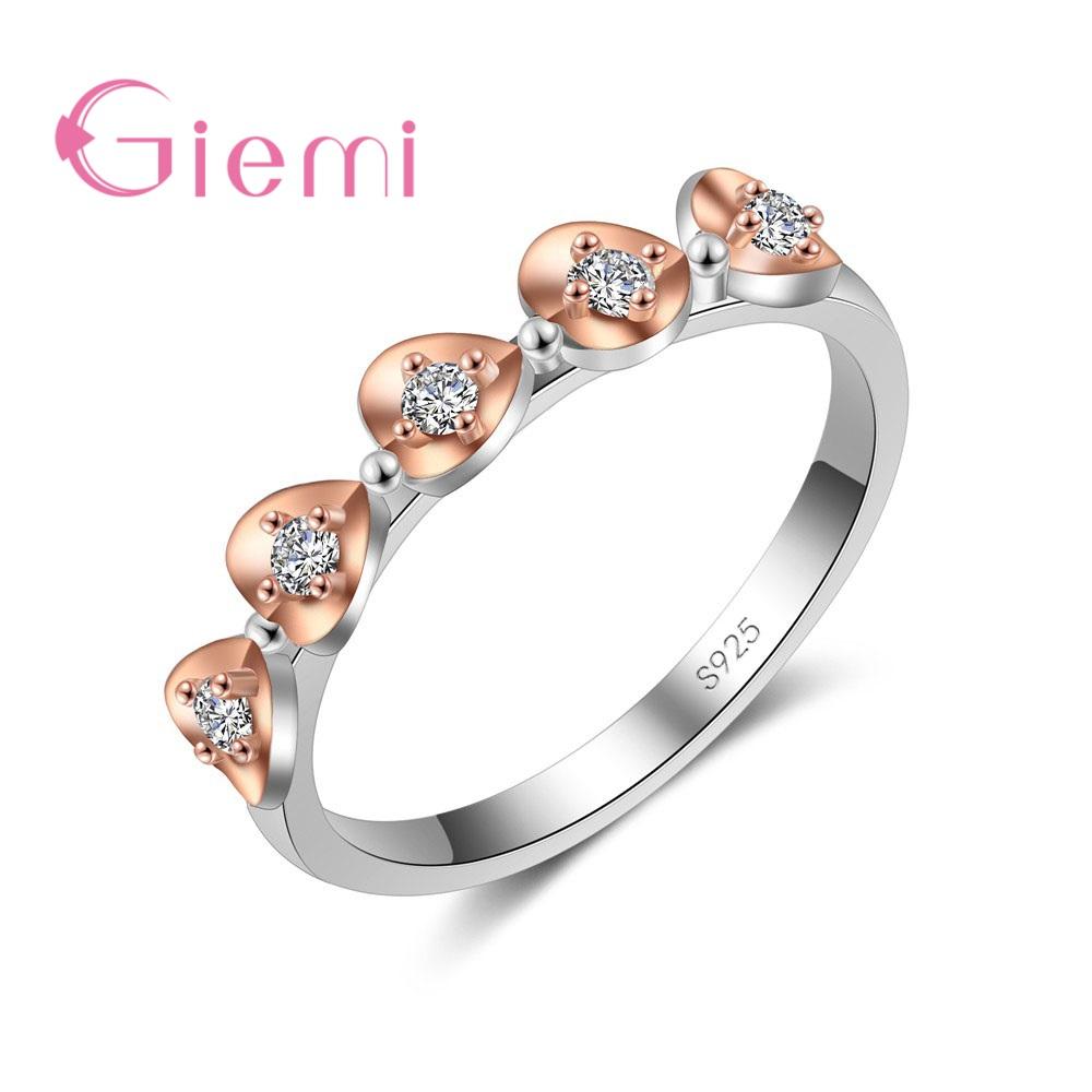 Arco Corazón Diamante Estrás Cristal Cúpula Anillo Ajustable Bling Fiesta