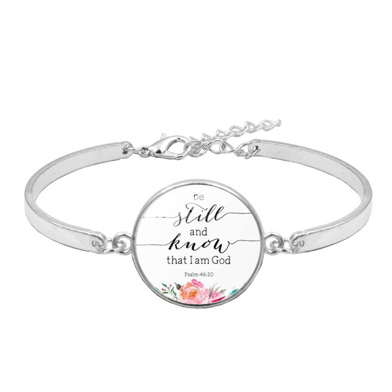 Spiritual Quote Bracelet Faith Based Jewelry Faith Religious Party Favors I Am Blessed Faith Gifts For Her Wish Bracelet
