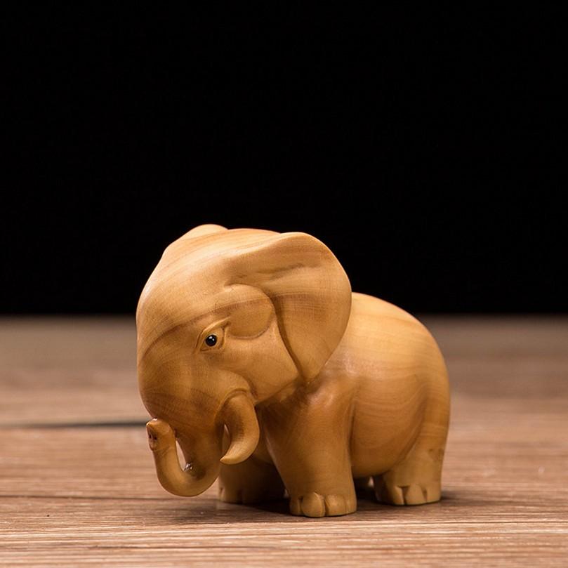 Forma de látex-elefante africano 90 mm