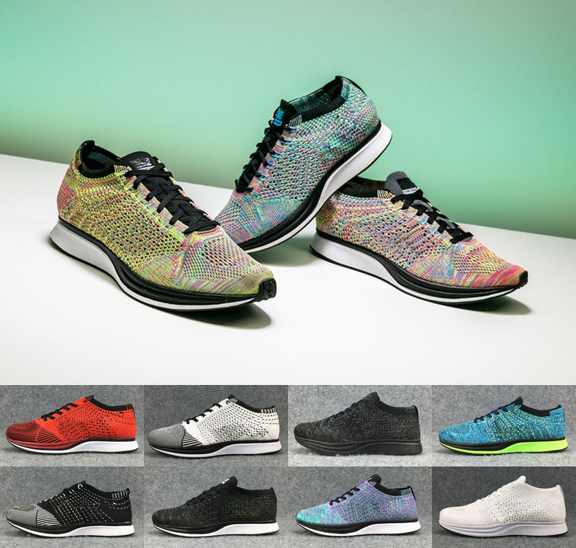 Brand discount 2018 Quality Wholesale 2017 Men Women Casual Racer Trainer Chukka Black Red Blue Grey Lightweight Breathable Walking Shoes