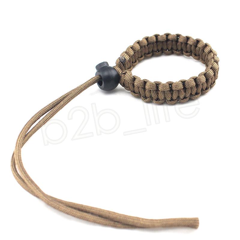 Camera Woven Rope Grip Rapid Wrist Strap Camera Non-slip Belt Wrist Hand Strap camera Bracelet Outdoor Rope Sport Accessories GGA959