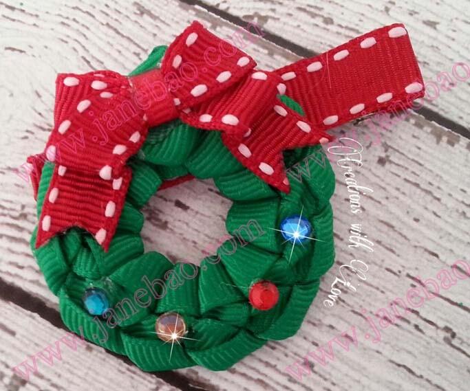Christmas Wreath Ribbon
