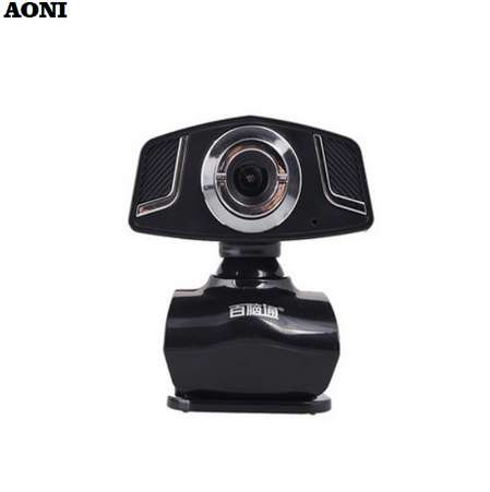 USB 2.0 50.0M Mini PC Camera HD Webcam Camera Web Cam for Laptop Black N3