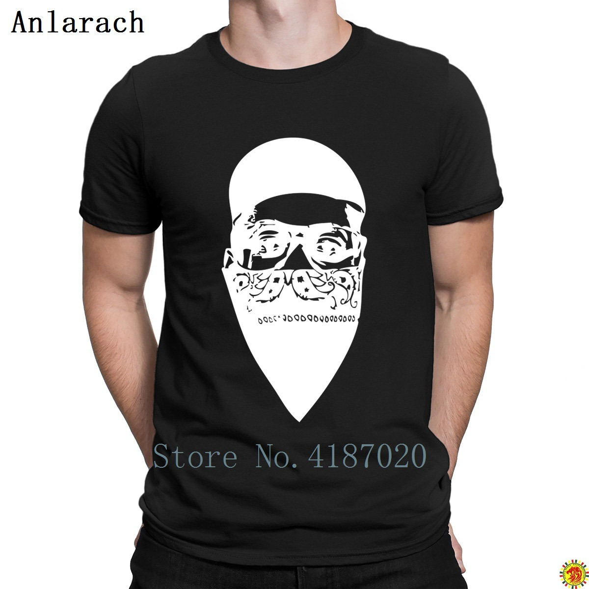Gangster Nerd Tshirt Summer Style Cheap The New Short Sleeve T Shirt For Men Customized Solid Color Vintage Trendy