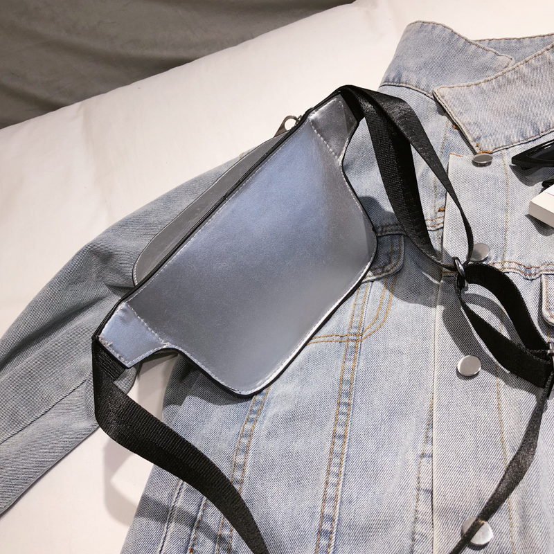 LEFTSIDE 2018 Fashion PU Leather Waist Bag Women Fanny Packs Letter EX_B6_17