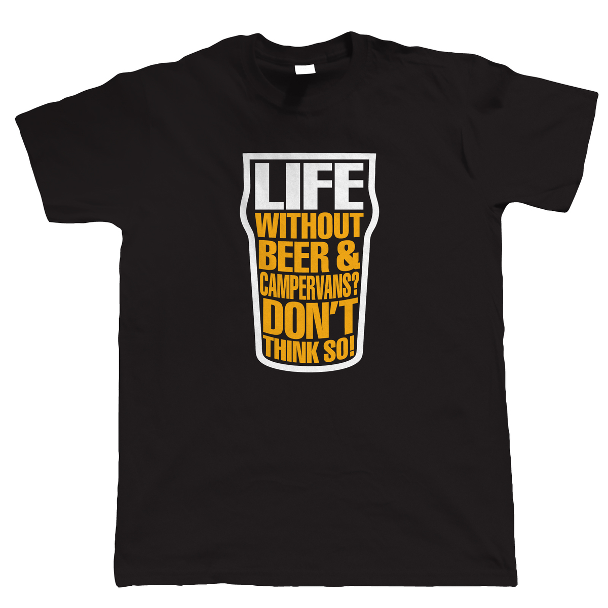 la vida sin CERVEZA Y autocaravanas, Camiseta hombre, T25 pantalla dividida