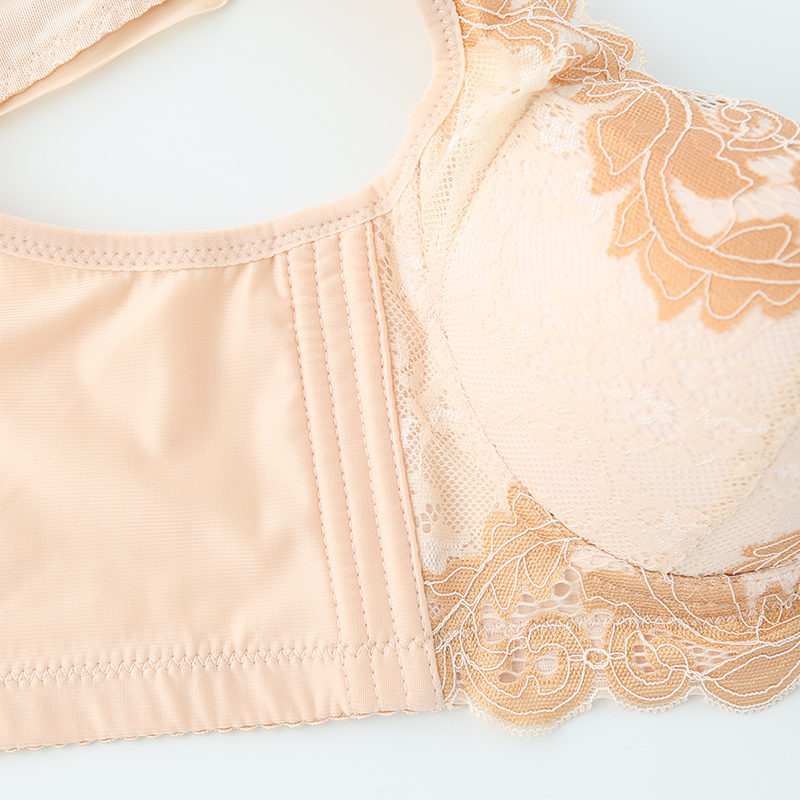 FORDAR New Hot Women Bra Set Four Hook-and-eye Zipper Underwear Small Chest Girls Push Up Bra Panty Sexy Lingerie Sets