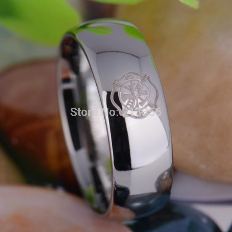 Wholesale Usa Hot Sales E Amp C Tungsten Luxury Jewelry 8mm Fireman