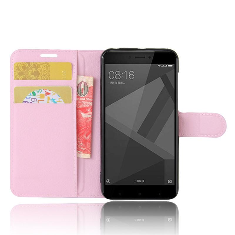 For Xiomi Xiaomi Redmi 4X Case 5.0 inch Wallet PU Leather Cover Phone Case For Xiaomi Redmi 4X 4 X Case Silicone Flip Back Bag (10)