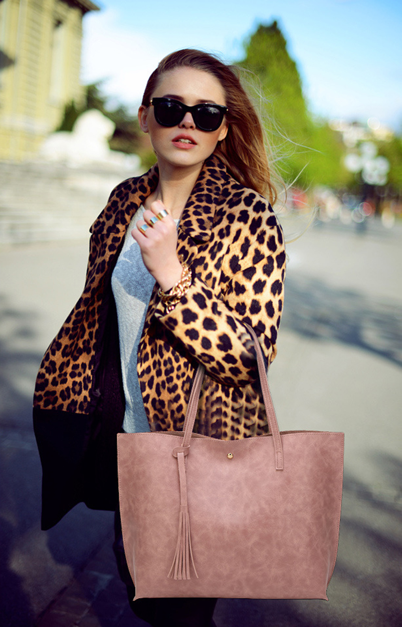 Nevenka Leather Handbag Women Casual Totes Female Shopper Ladies Shopping Bags Large Capacity Bags Vintage Bag for Women 201804