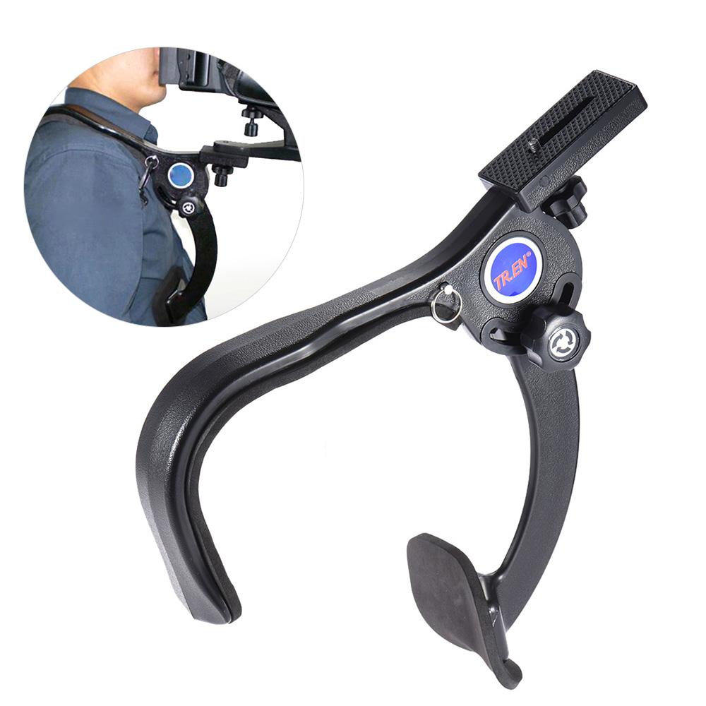 Vendita all'ingrosso Spalla a mani libere Spallaccio di sostegno Stabilizzatore videocamera DSLR Camcorder Riprese video HD DV