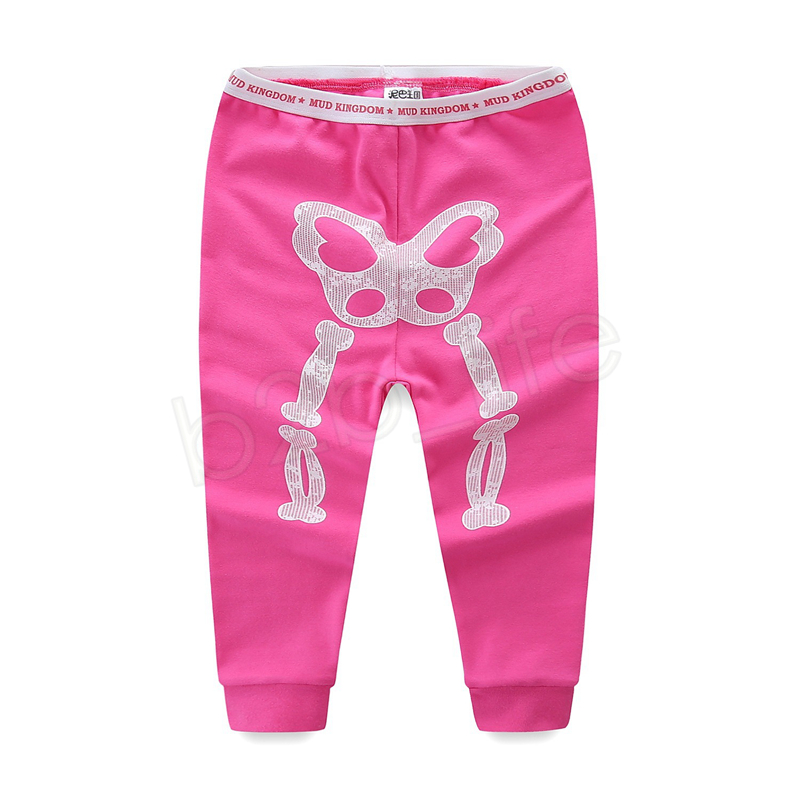 Ins Halloween Kids Luminous Skeleton Tracksuits suits Baby Skull Clothing Sets Night Light Long Sleeve Pullover + Pants Outfit GGA1163