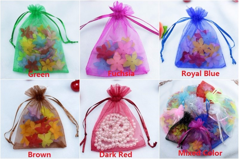 organza gift jewelry packaging bags pouches (261)