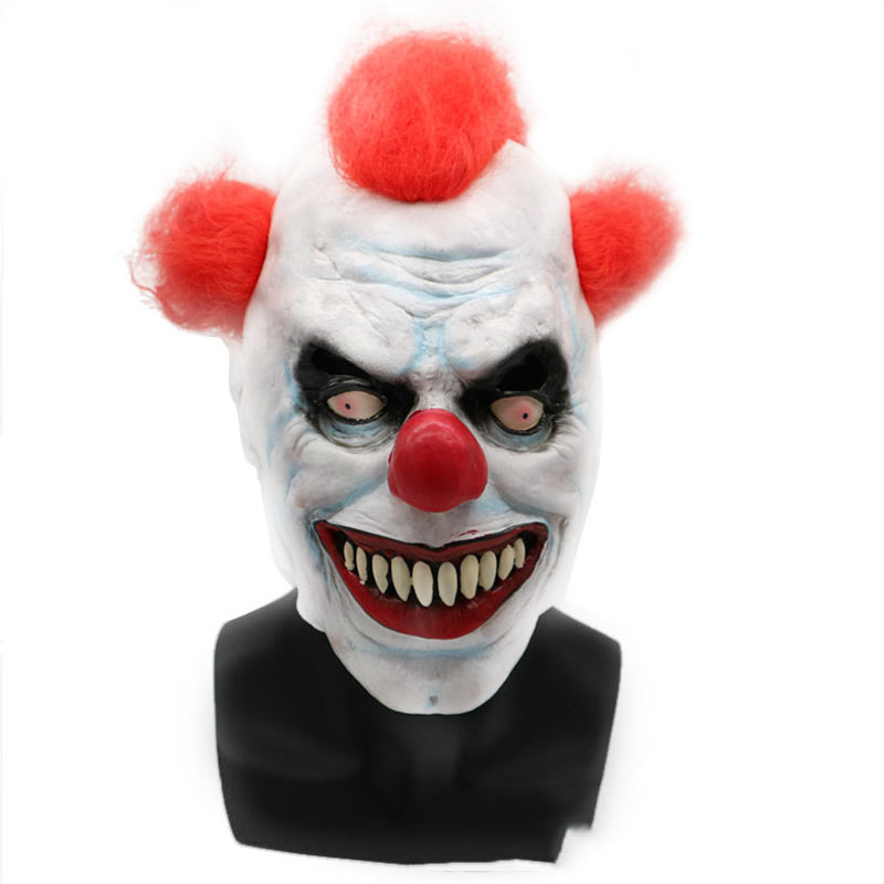 Halloween Mask Party Full Face Masks Adult Ghost Mask Killer Clown Scary Creepy Horror Terror Masquerade Cosplay Mischief Mask (6)