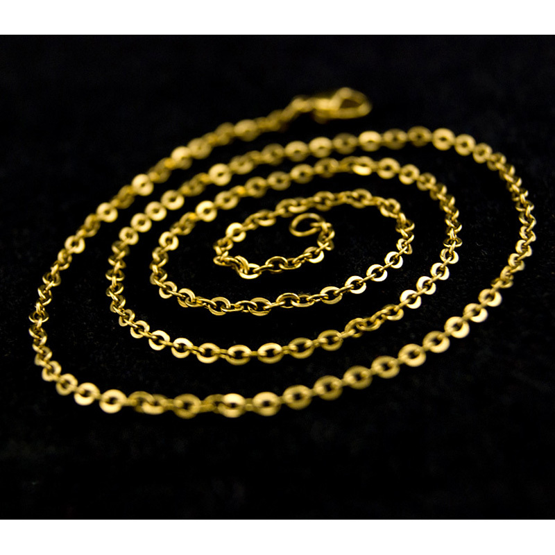 DIY-woman-gold-chain-necklace-Jewelry-making-2mm-ROLO-Chains-bulk-necklace-Stainless-Steel-Customize-not (2)