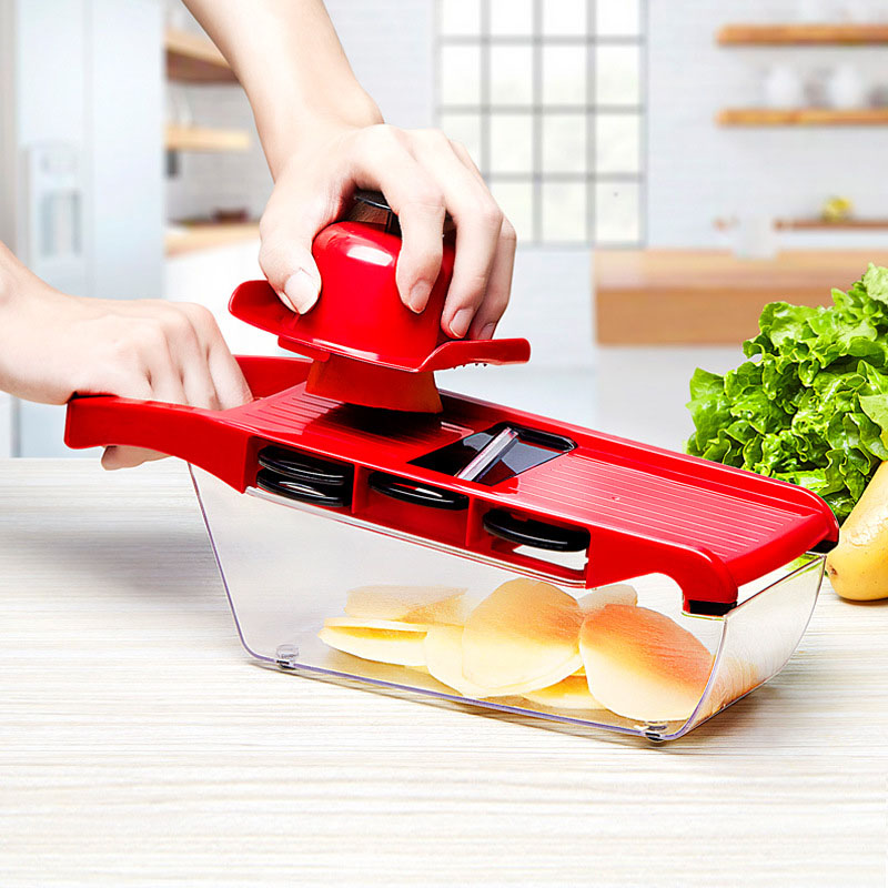 QuickDone-Creative-Mandoline-Slicer-Vegetable-Cutter-with-Stainless-Steel-Blade-Manual-Potato-Peeler-Carrot-Grater-Dicer (4)