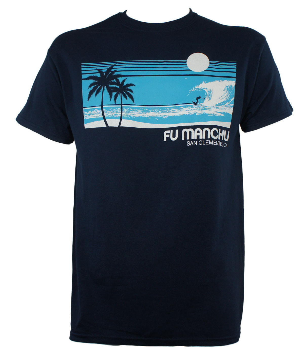 Authentic FU MANCHU Band Surfer San Clemente T-Shirt Stoner Rock NEW Fashion Men T Shirt Text
