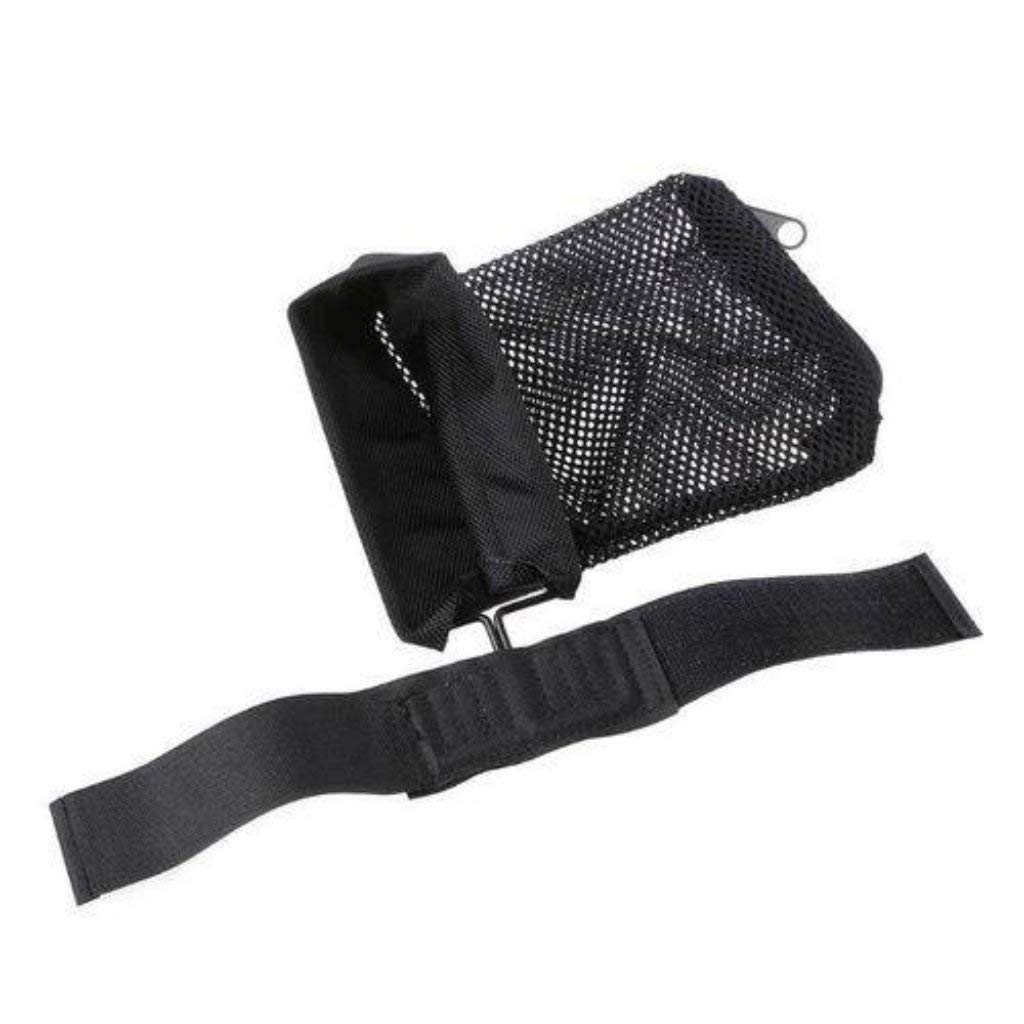 Tactical Brass Catcher Nylon Mesh Brass Shell Collector Net bag with Zippered Bottom for Quick Unload