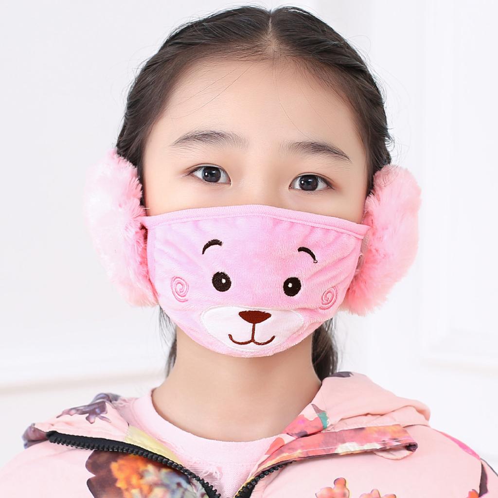 masque anti poussiere rose