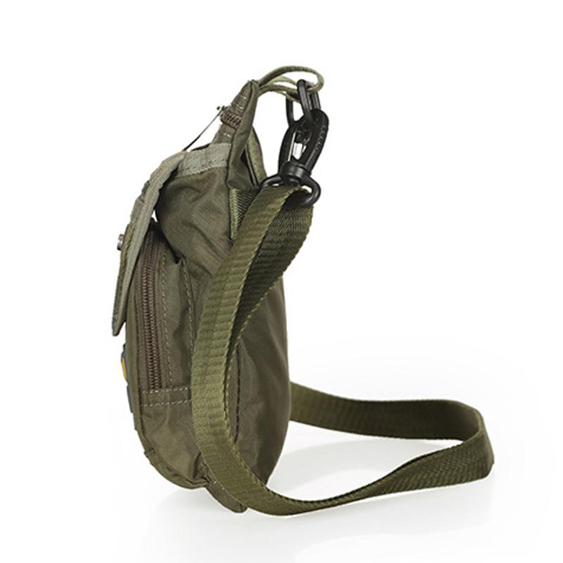 Men Nylon Waist Crossbody Fanny Pack Military Motorcycle Rider Casual Thin Male Hip Bum Belt Bag Small Shoulder Messenger Bags