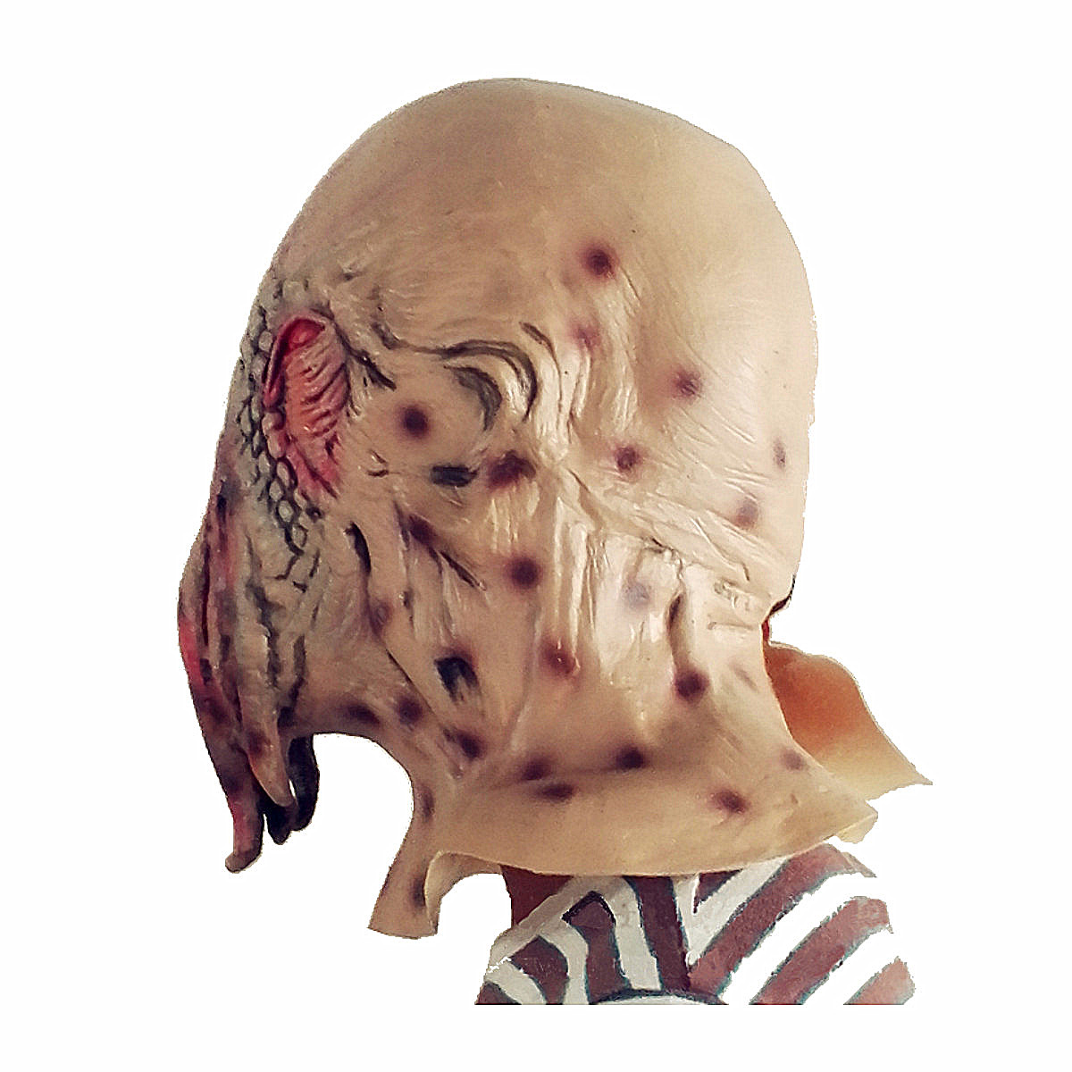 Scary Halloween Octopus Mask Latex Party Horror Face Mask Masquerade Cosplay Costume Party Events Supplies Creepy Photo Props