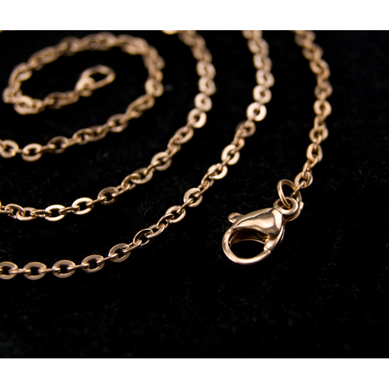 DIY-woman-gold-chain-necklace-Jewelry-making-2mm-ROLO-Chains-bulk-necklace-Stainless-Steel-Customize-not (3)
