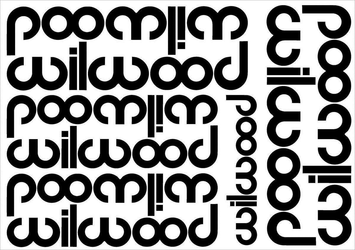 9 xWilwood Frenler Cut Vinil Çıkartması Sticker Levha
