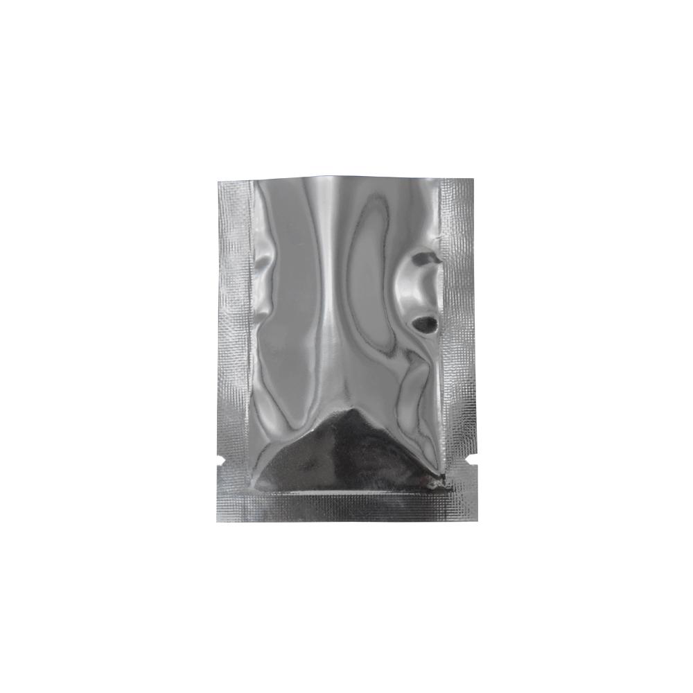 7 * 10cm Thermoscellable Ouvert Haut Transparent En Plastique Transparent Mylar Feuille D'emballage Pochette Alimentaire Vide Odeur Preuve Paquet En Aluminium Sac 200 Pcs