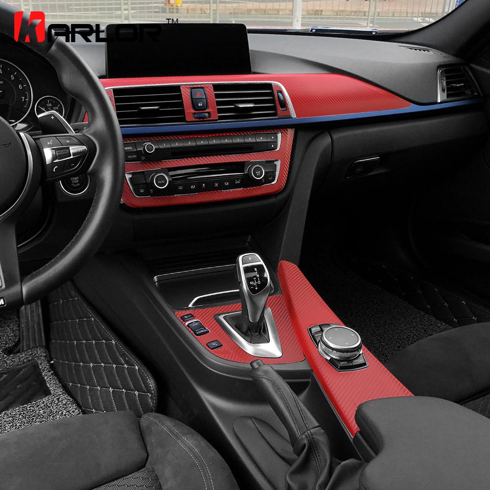 per guida a sinistra Yiwang in fibra di carbonio per Giulia 2016-2020 pannello decorativo per console centrale auto