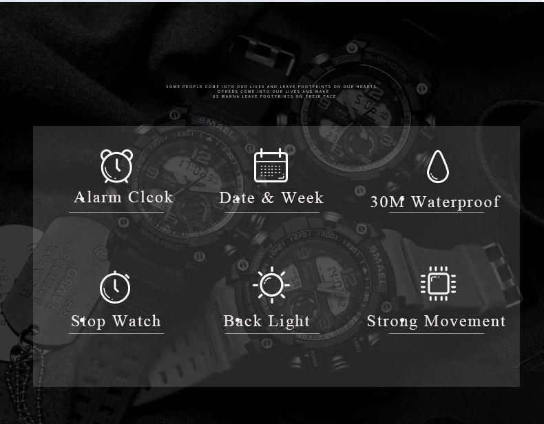 4 sport watch digital