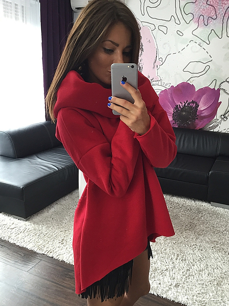 2019 Christmas velvet clothes 2018 New Arrival Women Winter Hoodies Cotton O-neck Long Sleeve Fashion Casual Style Autumn Sweatshirts