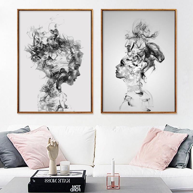 Aliexpress.com: Comprar Increíble Abstracta Moderna Pintura Al Óleo Desnuda Atractiva Belleza