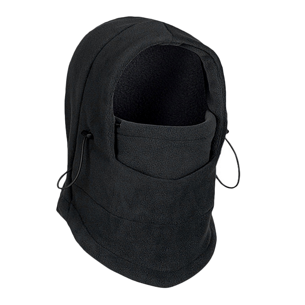 6 in1 Thermal Balaclava Neck Gaiter Winter Ski Mask Full Face Cap Motorcycle Hat