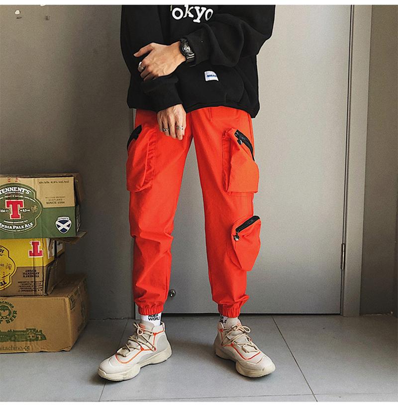 Pocket Tactical Fashions Men Hip Hop Pants Man (4)