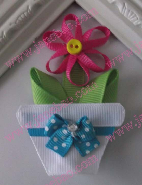 Flower Pot ribbon