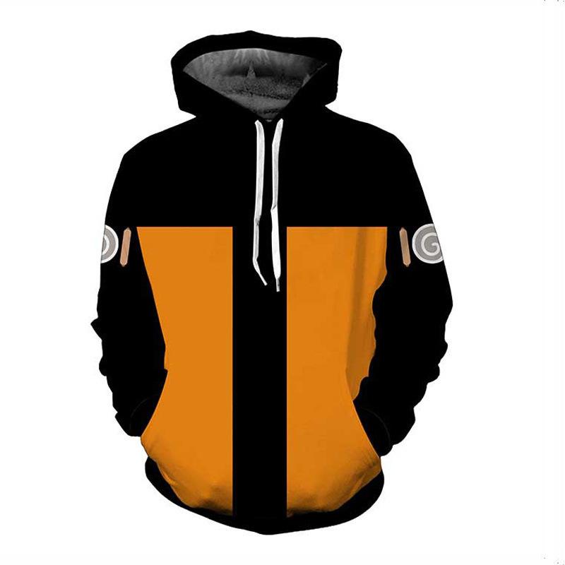 Boruto Naruto Hoodies Ceket Erkekler 3D Hoodie Akatsuki Coat Uchiha Itach Cosplay Kostüm Kakashi Hoodies Sweatshirt Bırak Gemi L18101005