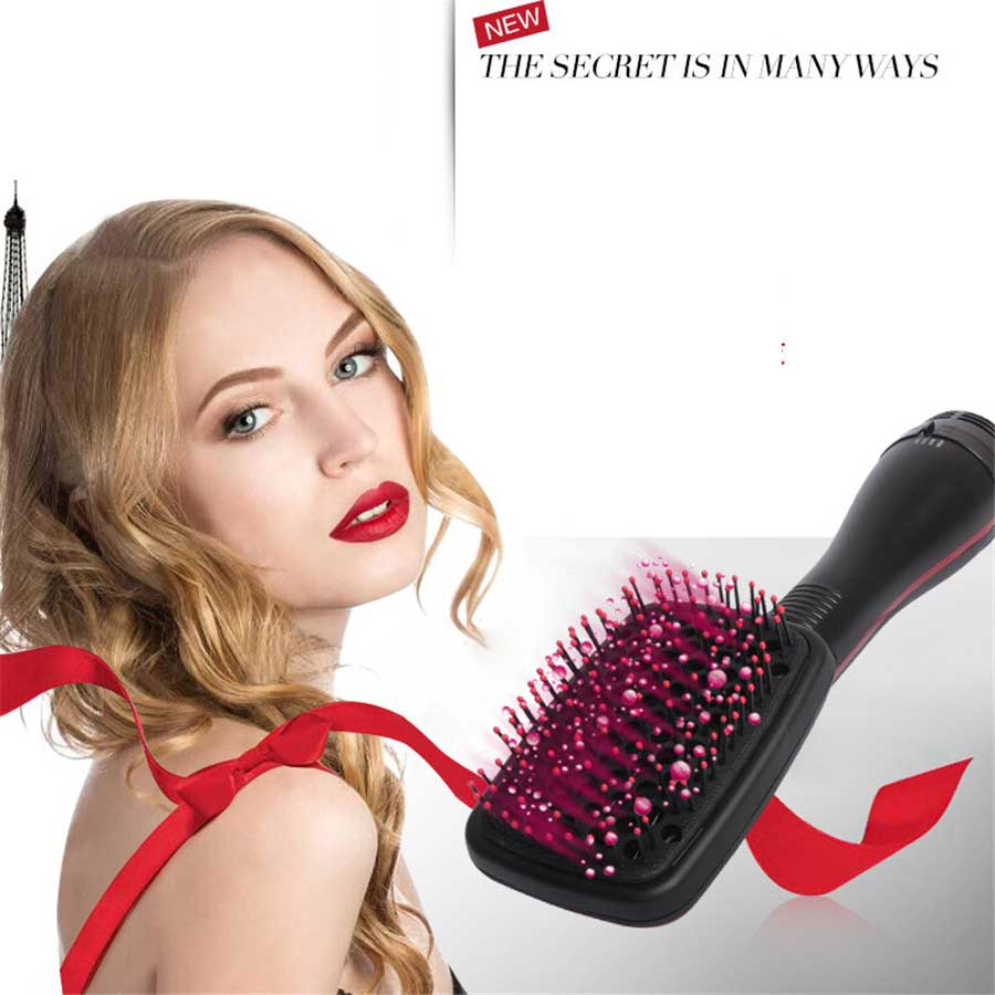Professional Hair Dryer Brush Multi Function Electric Hairs Blow Dryer Brush Hot Air Hair Curls Comb Salo Hairs Styler