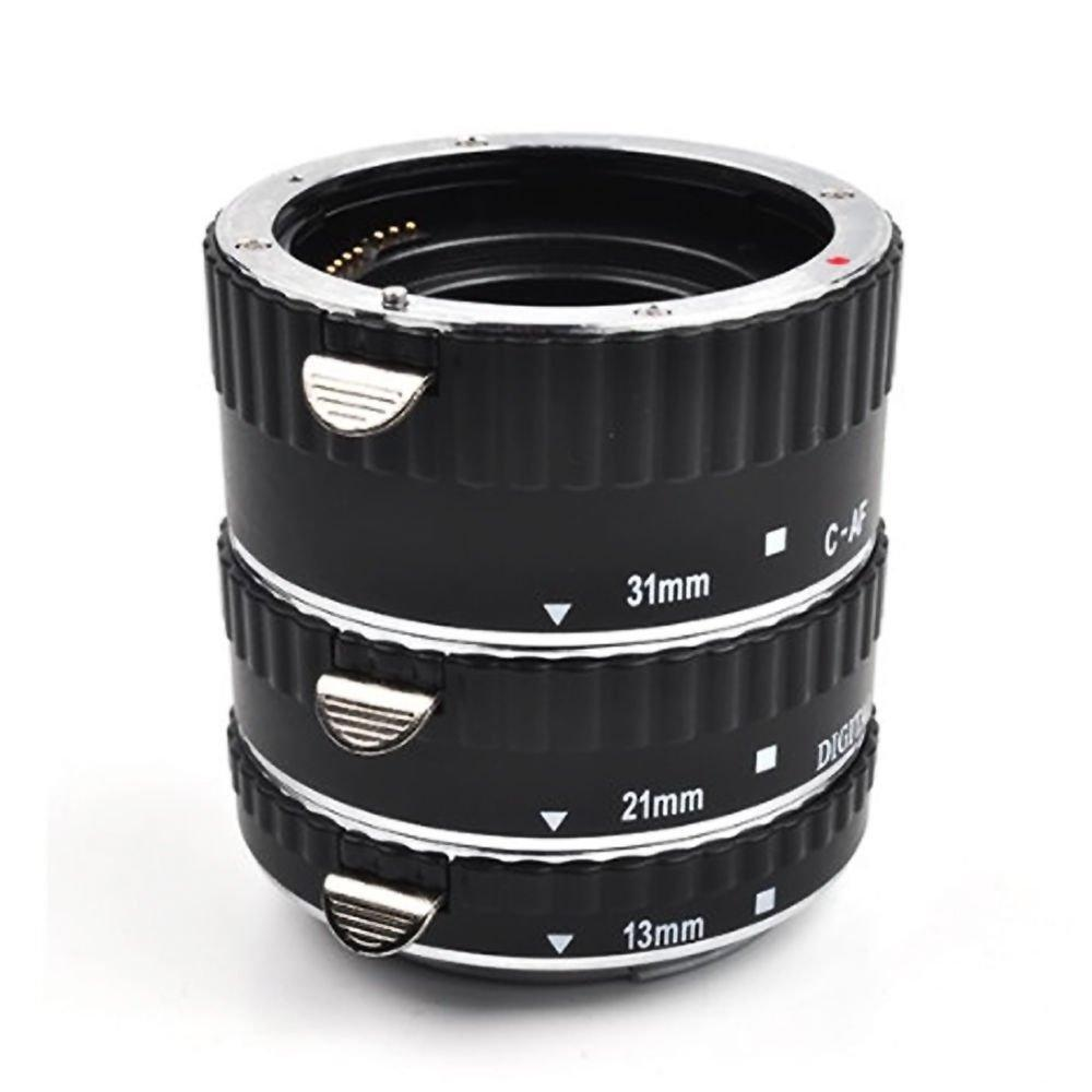 GloryStar Macro Auto Focus Extension Tube Ring Set for Canon with auto focus MK-C-AF-A mk c af a af1