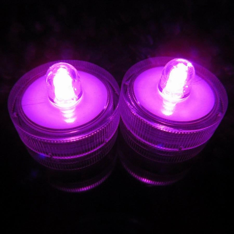 Waterproof Submersible LED Tea Light Electronic Candle Light (14)