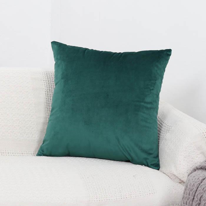 Home Decore Crushed Velvet Cushion Large Covers soft Luxury New Plain 8 Colours