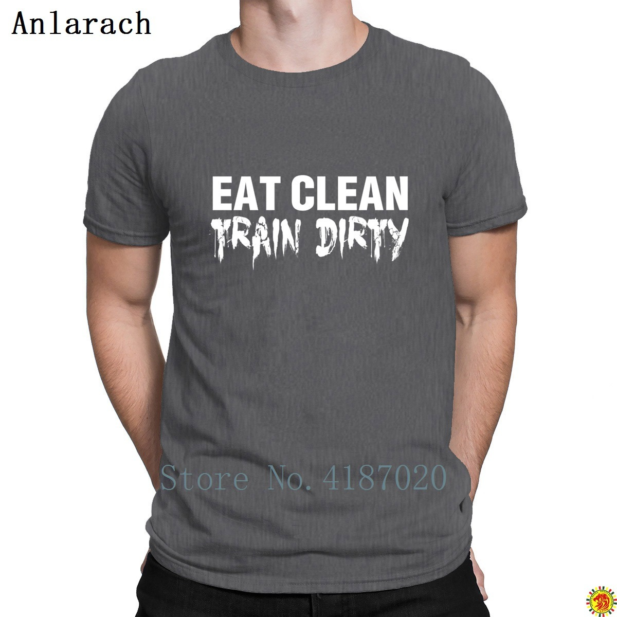Coma Clean Train Dirty Tshirt Better Basic Solid Envío Gratis Summer Men's Tshirt Carta de diseñador Fitted Round Collar