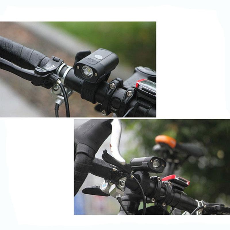 Bicycle Light USB Rechargeable Bike Front Light 350 Lumens LED Bicycle Headlight MTB Bike Flashlight Handlebar Light 5 Modes