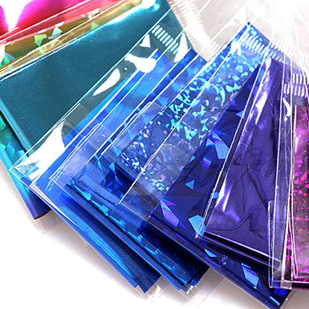 20Pcs Finger DIY Nail Art Sticker Decal Foils Water Transfer Stickers Tips Decor (4)