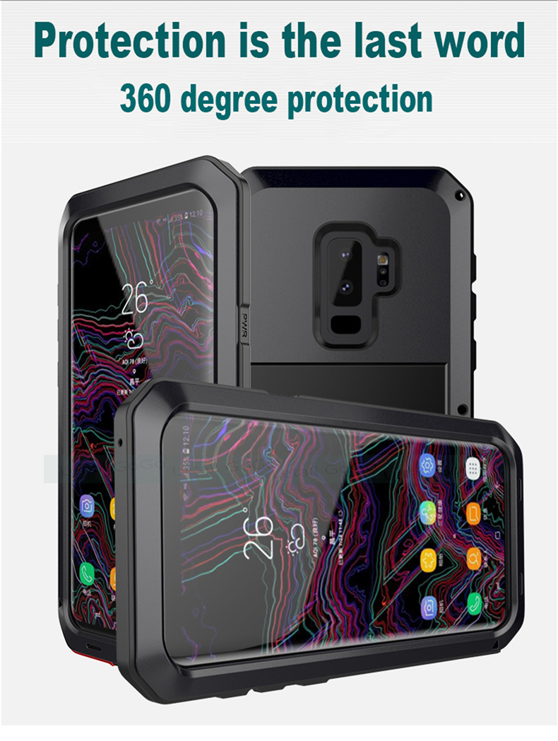 Samsung Galaxy S8 S9 Plus Note 8 9 shockproof phone cover case 9