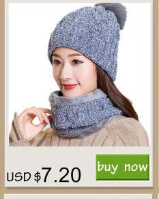 6f34432cbe1 Neck warmer 2017 knit cap scarf cap two-piece Winter Hats For Men Fur  Winter Beanie Fleece Knit Hat balaclava with Neckwarmer Material   Acrylic