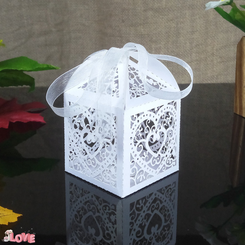 romantic candy gift box KWAYE Christmas party decoration candy box baby shower wedding decoration 6ZT34