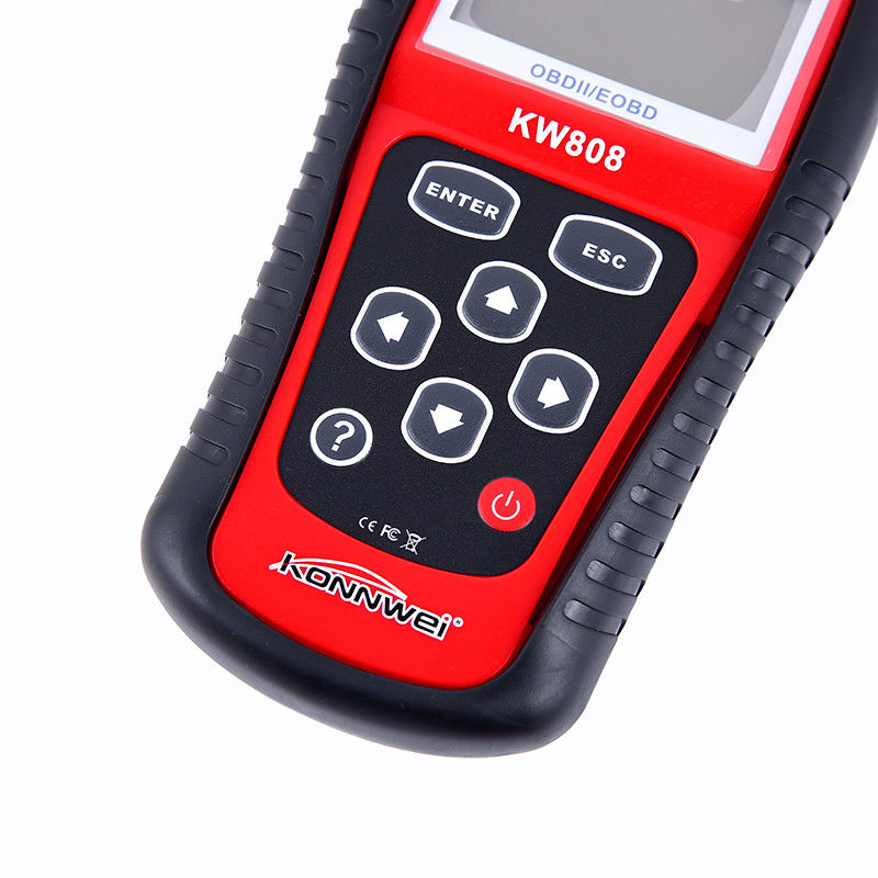 KONNWEI MS509 KW808 OBD2 OBDII EOBD Scanner Car Code Reader Tester Diagnostic With Retail box UPS DHL