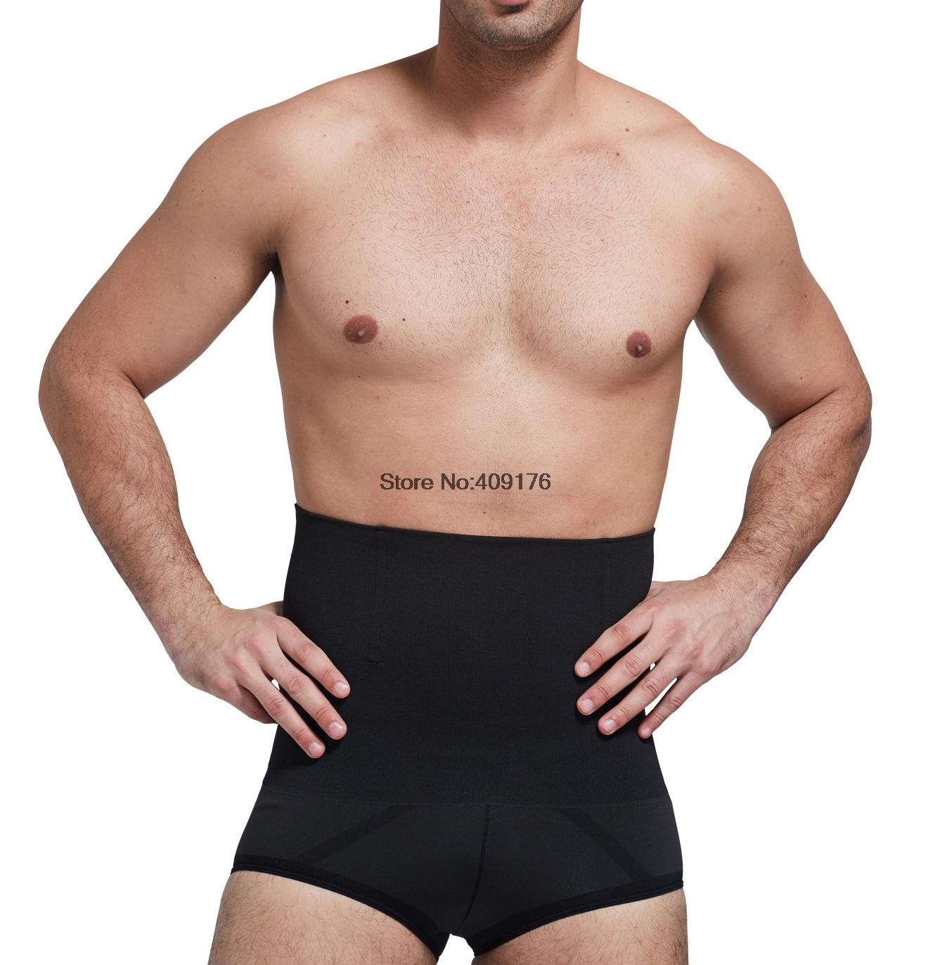 e5fc2fac073aa 2019 Wholesale Men Body Shaper Underwear Waist Trainer Cincher ...