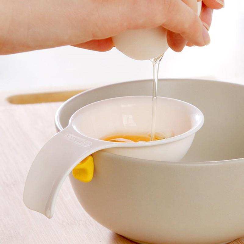 2Pc Egg Yolk Blanc Séparateur Filtre Tamis Cuisine Cuisson Pâtisserie outils utiles